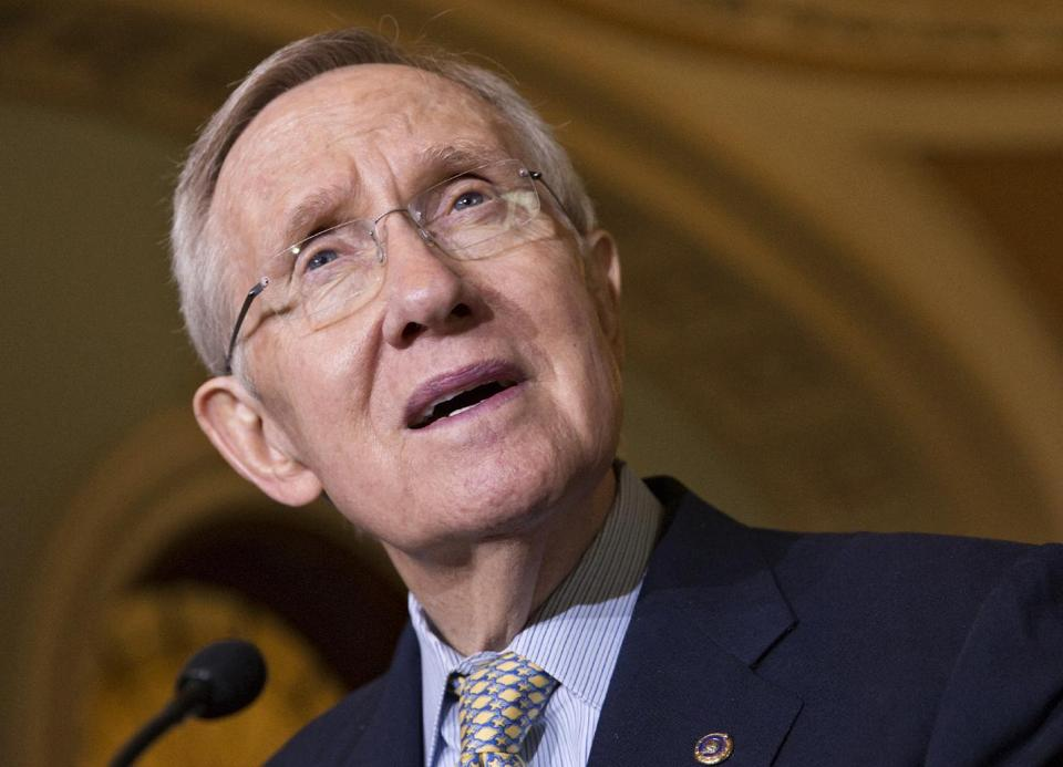 Senate Majority Leader Harry Reid (AP/J. Scott Applewhite)