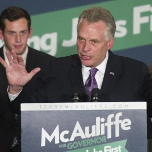 Virginia governor-elect Terry McAulife (AP/Cliff Owen)