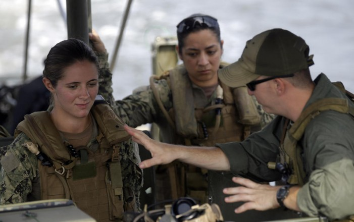 Women in combat roles in Navy Riverine? You betcha