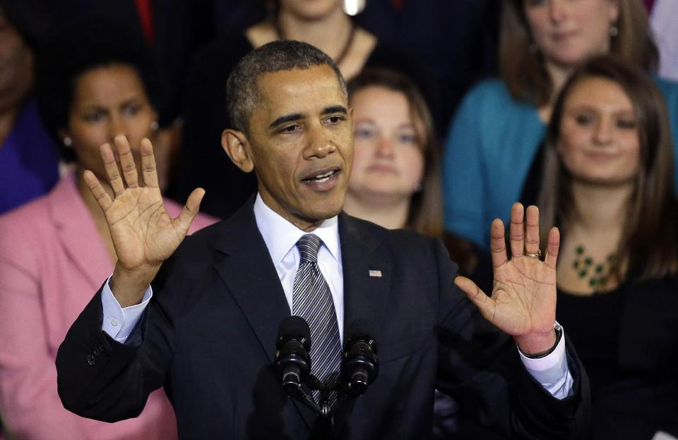 President Barack Obama says he is sorry, but is he? (AP/Stephan Savoia)