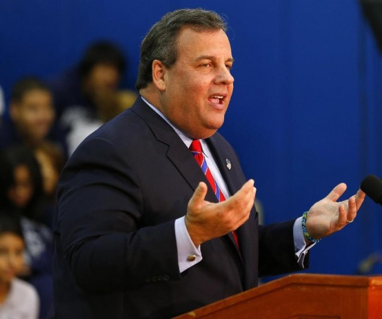 New Gov. Chris Christie (AP/Rich Schultz)