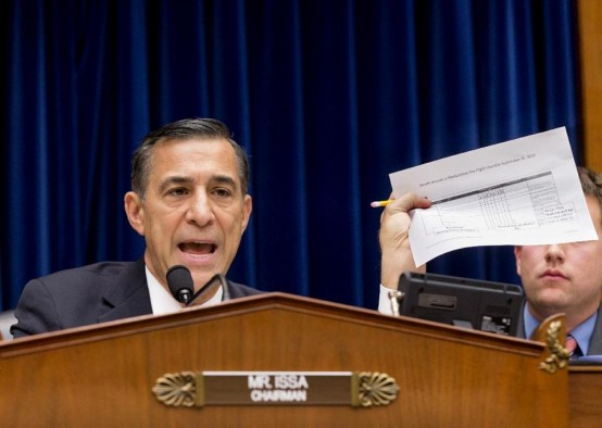 House Oversight Committee Chairman Rep. Darrell Issa (R-Calif). (AP/J. Scott Applewhite)