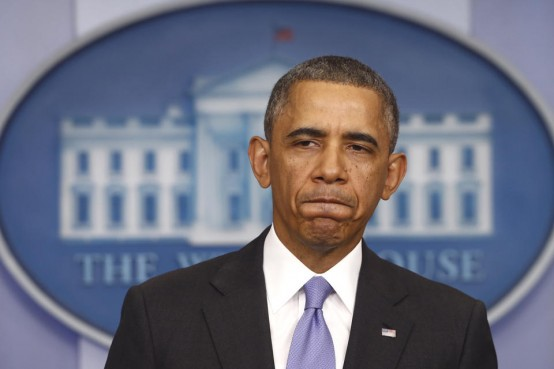 "President Barack Obama: 'Yes, it was my fault."" (AP/Charles Dharapak)"