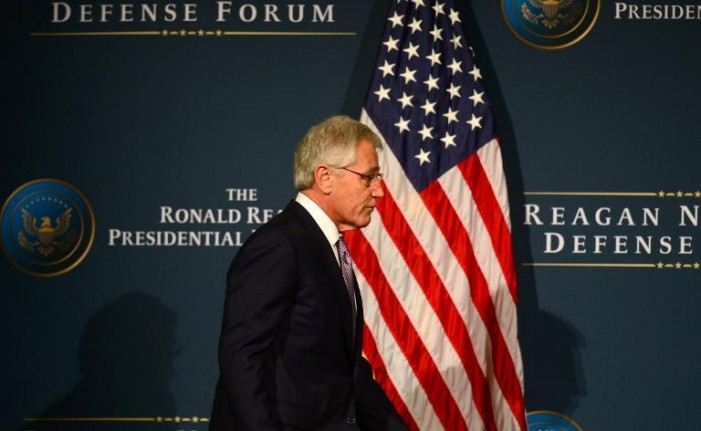 Hagel: Budget cuts threaten America's security