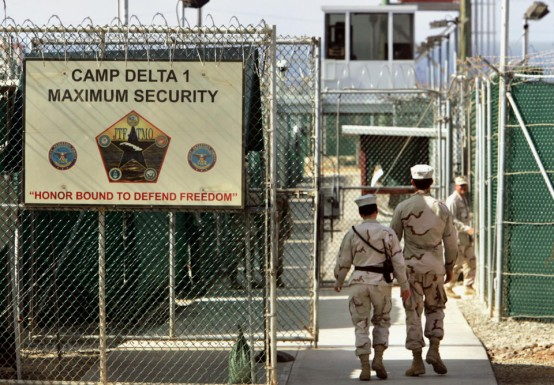 Camp Delta prison at Guantanamo Bay, Cuba (AP/Brennan Linsley)