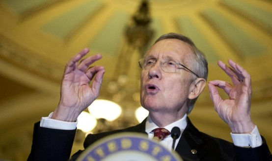 Senate Majority Leader Harry Reid (AP/Manuel Balce Ceneta)