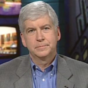 Michigan Gov. Rick Snyder