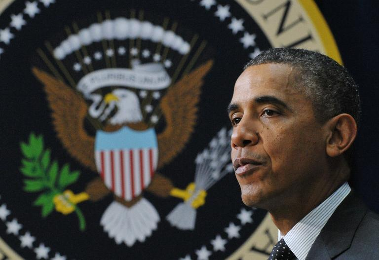 President Barack Obama (AFP/Mandel Ngan)