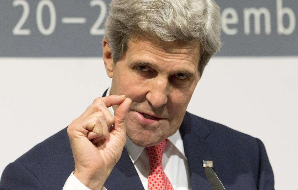 Secretary of State John Kerry discusses deal with Iran. (AP/Carolyn Kaster)