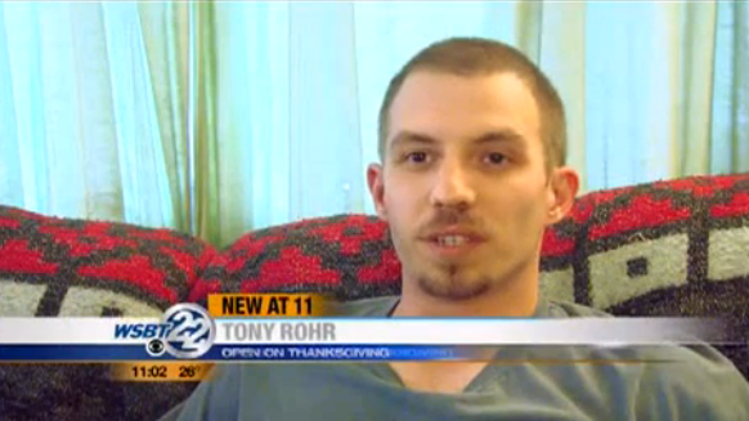 Tony Rohr:  He gave his employees the day off for Thanksgiving and lost his job.