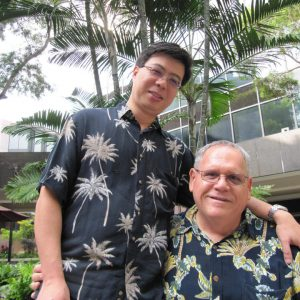 Ethan Wung and Keola Akana will be among the first to legally marry in Hawaii.  (AP/Jennifer Sinco Kelleher)