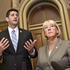 Rep. Paul Ryan, Sen. Patty Murray (AP/Scott Applawhite)