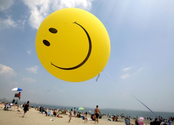 Don't worry, be happy? (AP/Michael Dwyer)