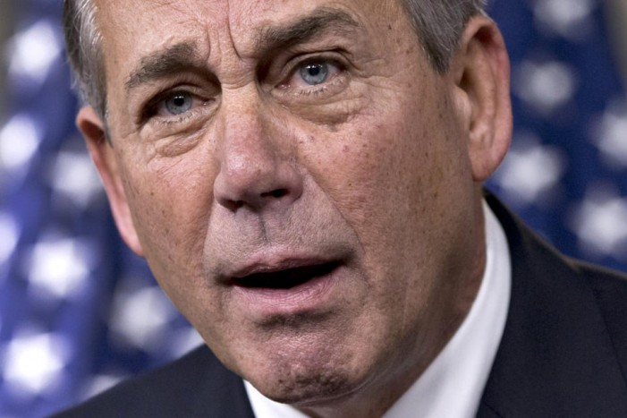 Boehner gets testy with right-wing naysayers