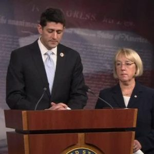 Rep. Paul Ryan and Sen. Patty Murray.