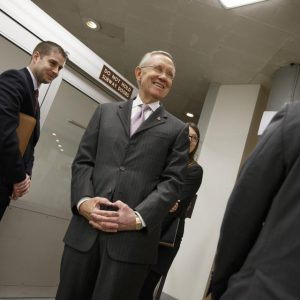 Senate Majority Leader Harry Reid of Nev.  (AP Photo/J. Scott Applewhite)