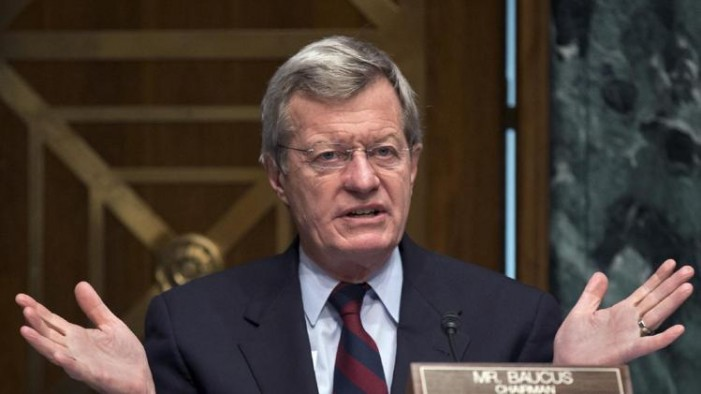 Obama to nominate Baucus as China ambassador