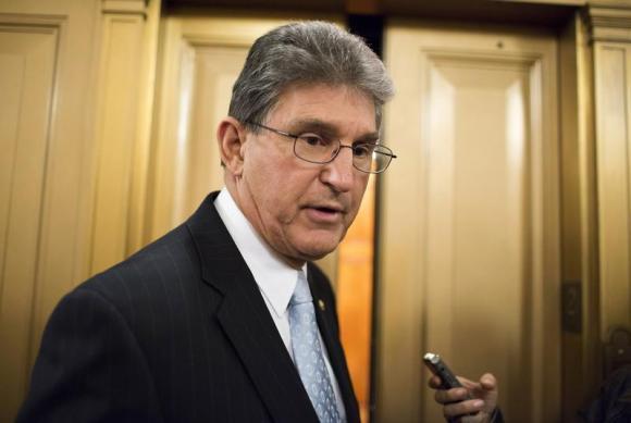 Senator Joe Manchin (D-WV). (REUTERS/Joshua Roberts)