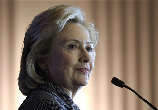 Former Secretary of State Hillary Rodham Clinton. (AP Photo/Susan Walsh, File)
