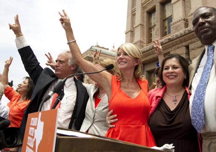 Can a two-woman ticket win in Texas?