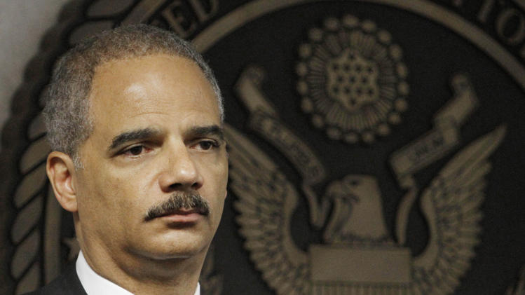 Attorney General Eric Holder (AP Photo/Alan Diaz)
