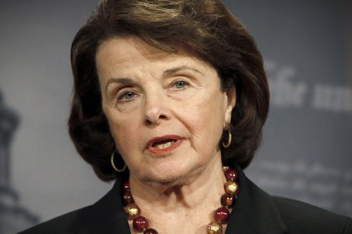 U.S. Senate Intelligence Committee Chairman Senator Dianne Feinstein (D-CA).  (REUTERS/Hyungwon Kang)