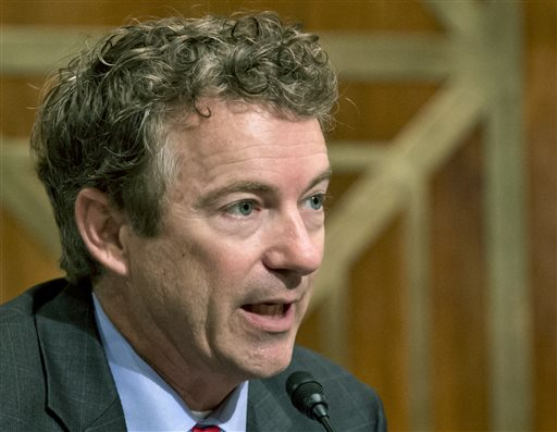 Sen. Rand Paul, R-Ky. (AP Photo/J. Scott Applewhite)