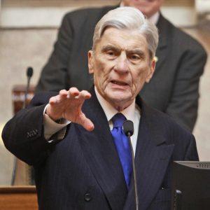 Former Virginia Senator John Warner.