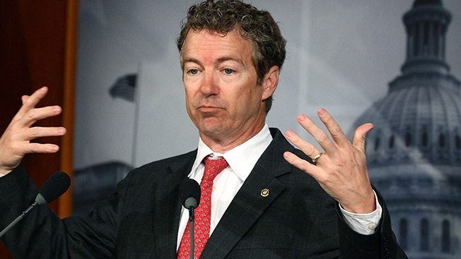 Rand Paul:  Yeah, he said that