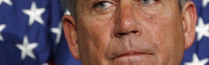 Boehner to GOP: Immigration reform? No way