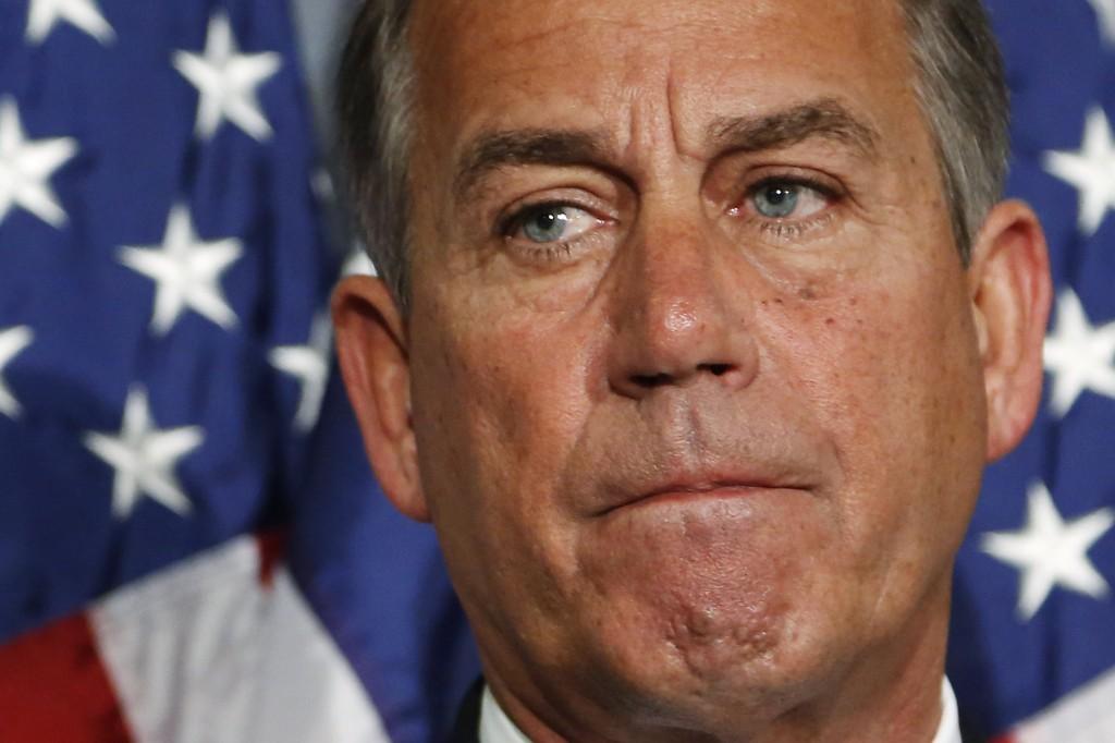 House Speaker John Boehner (Reuters/Jonathan Ernst)