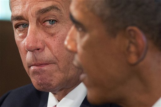 House Speaker John Boehner of Ohio and President Barack Obama . (AP Photo/Carolyn Kaster, File)