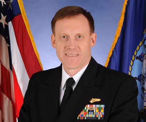 Vice Adm. Michael Rogers. (U.S. Navy Photo)