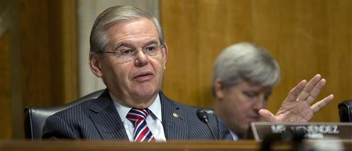 Menendez hoarding cash to fight ethical lapse probes