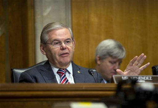 Sen. Robert Menendez, D-N.J. (AP Photo/Pablo Martinez Monsivais)