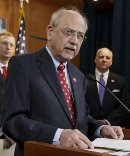 "Rep. Norman ""Doc"" Hastings, R-Wash. (AP Photo/J. Scott Applewhite)"