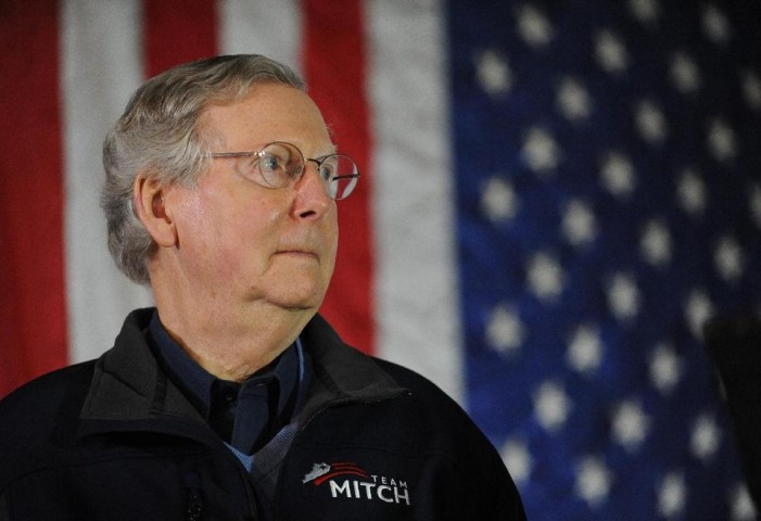Lots of effort to get rid of Mitch McConnell