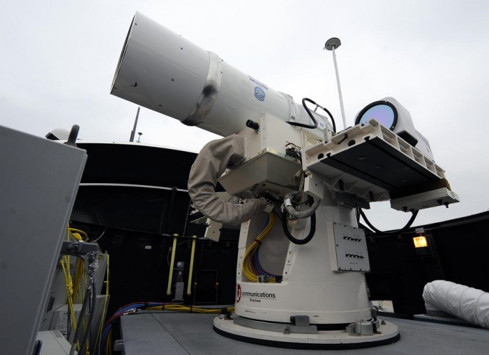 Navy set to deploy laser weapons