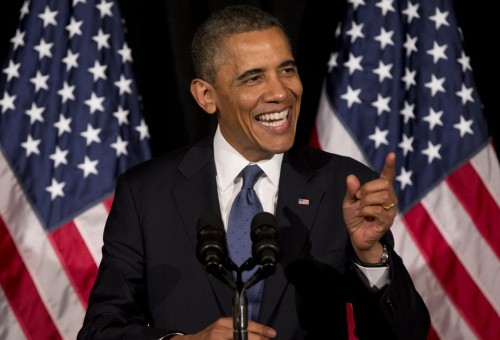 President Barack Obama: Big fundraiser for Democrats. (AP Photo/Carolyn Kaster)