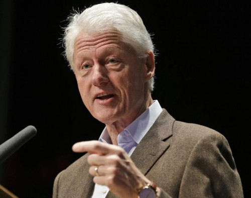 Former President Bill Clinton. (AP Photo/Steve Helber)
