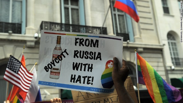 Rabid right embraces Russia's anti-gay laws