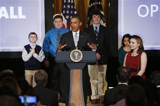 White House hosts student film festival
