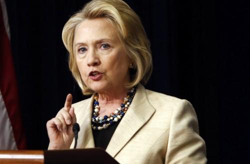 Hillary Clinton (REUTERS/Kevin Lamarque)