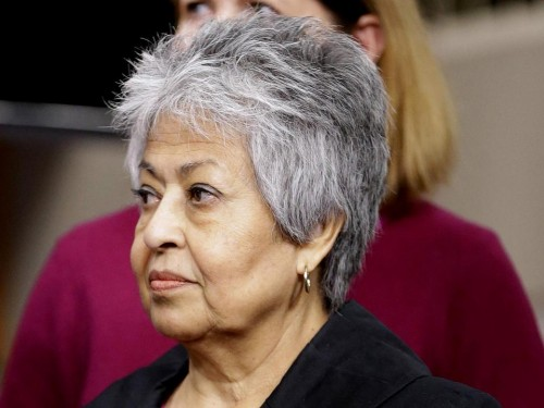 Congresswoman Gloria Negrete McLoud (AP Photo/Pablo Martinez Monsivais)
