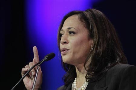 California Attorney General Kamala D. Harris  (REUTERS/David McNew)