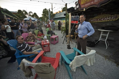 Florida Republican Congressional candidate David Jolly.  (AP Photo/Steve Nesius)