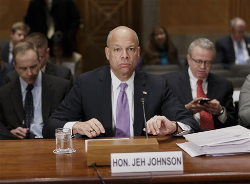 Homeland Security Secretary Jeh Johnson (AP Photo/J. Scott Applewhite)