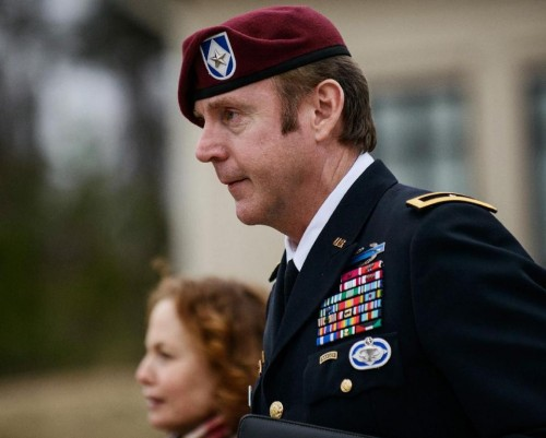 Brig. Gen. Jeffrey Sinclair  (AP Photo/The Fayetteville Observer, James Robinson)