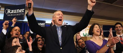 Unions 'all-in' governor's race in Illinois