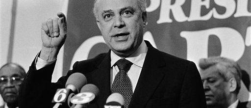 Master politician Bob Strauss dead at 95